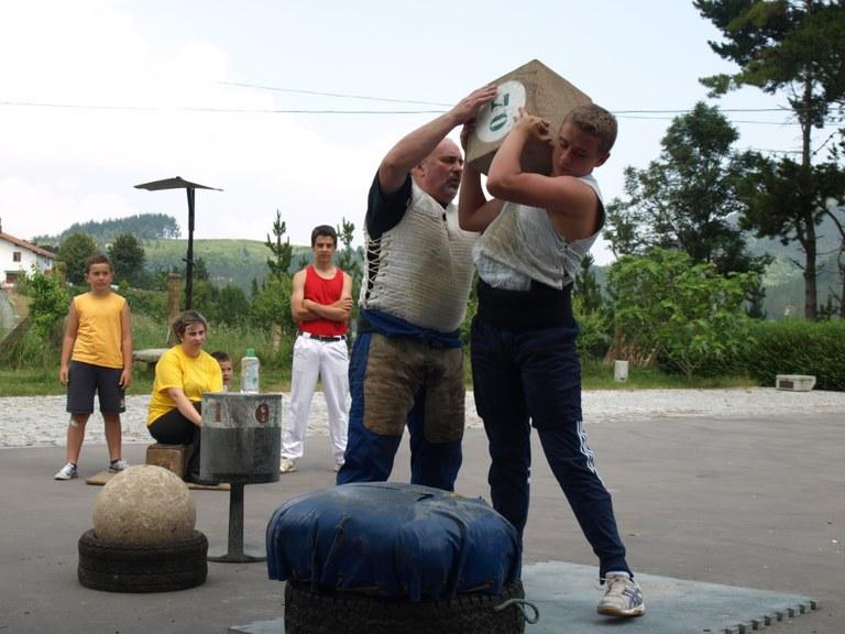 Stone-lifting