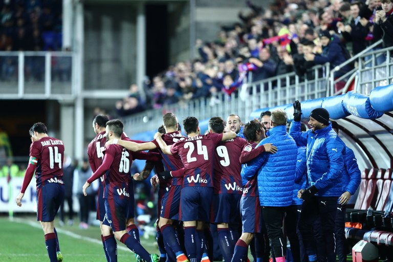 SD Eibar, at La Liga