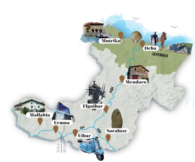 mapa turistikoa