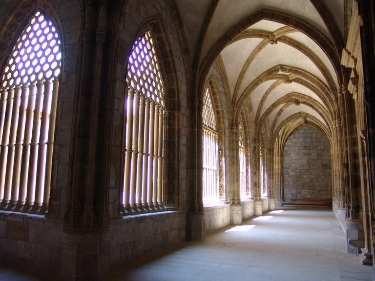 Claustro de la Iglesia de Santa Maria.