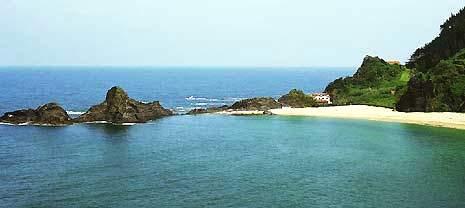 Playa de Saturraran, Mutriku