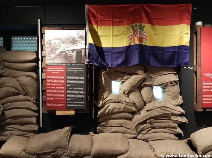 Centro de Interpretación de la Guerra Civil, en Arrate, Eibar. / Foto: Lonifasiko.com
