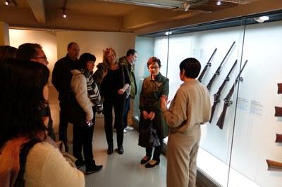 visita vice museo armas