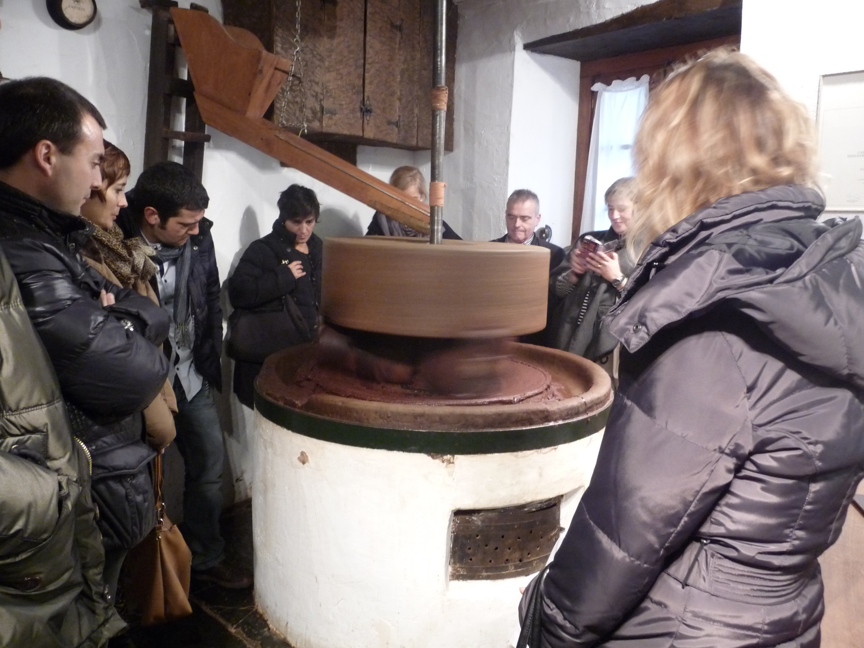 visita técnica chocolates